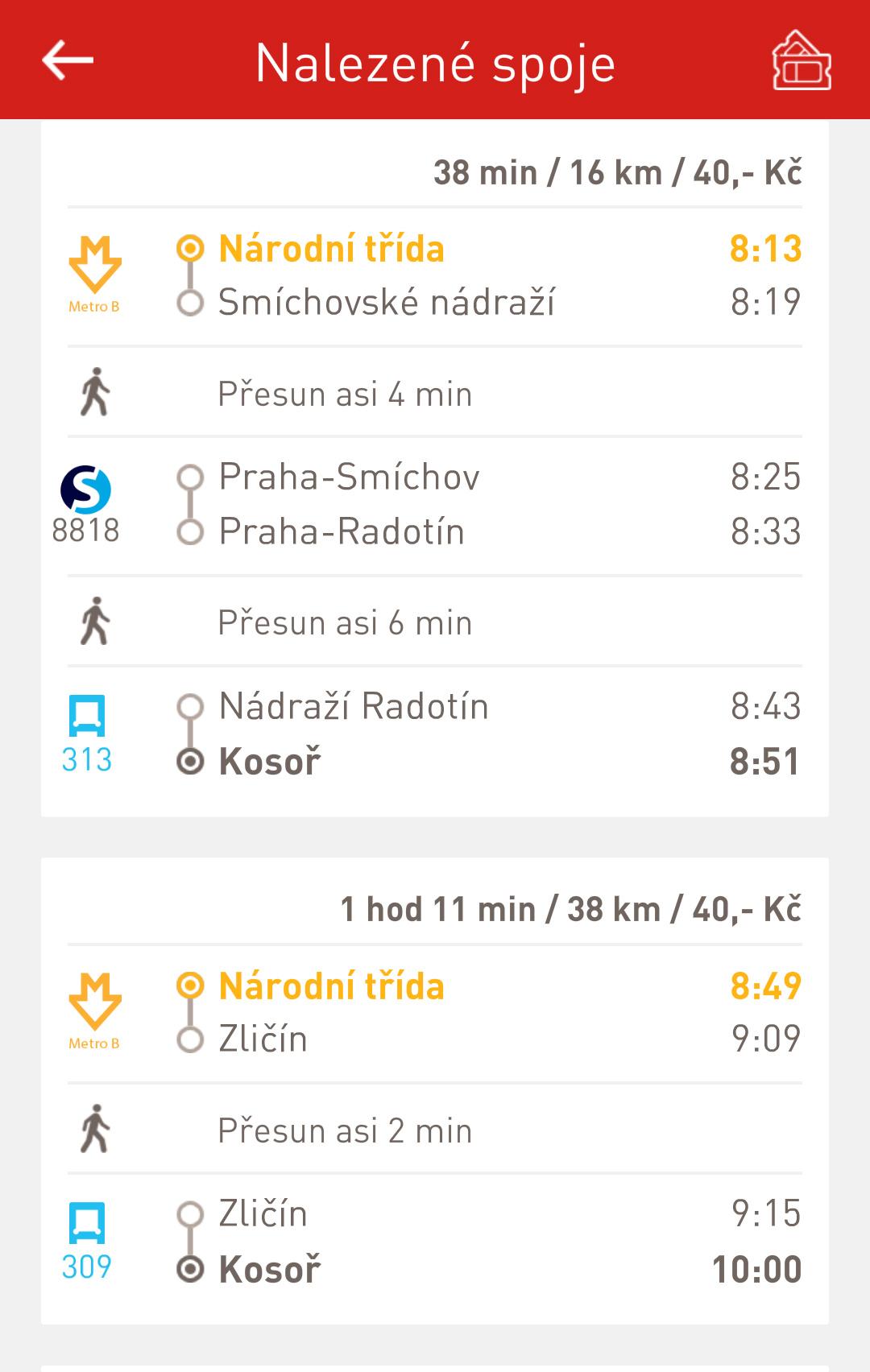 DPP - aplikace screenshot 2